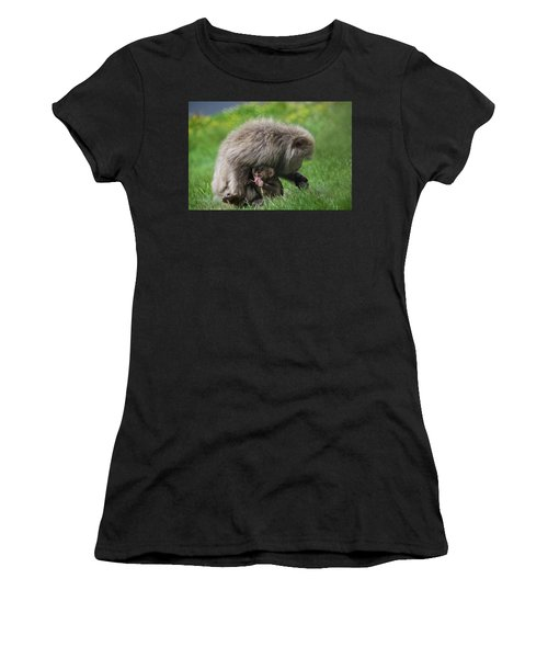 Baby Monkey Women's T-Shirt (Athletic Fit)