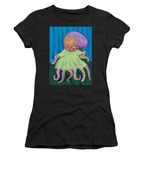Baby Octopus In A Dress Women's T-Shirt