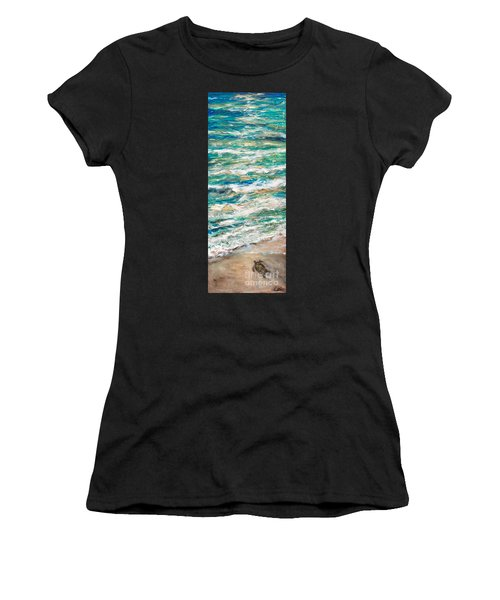 Baby Sea Turtle II Women's T-Shirt (Athletic Fit)