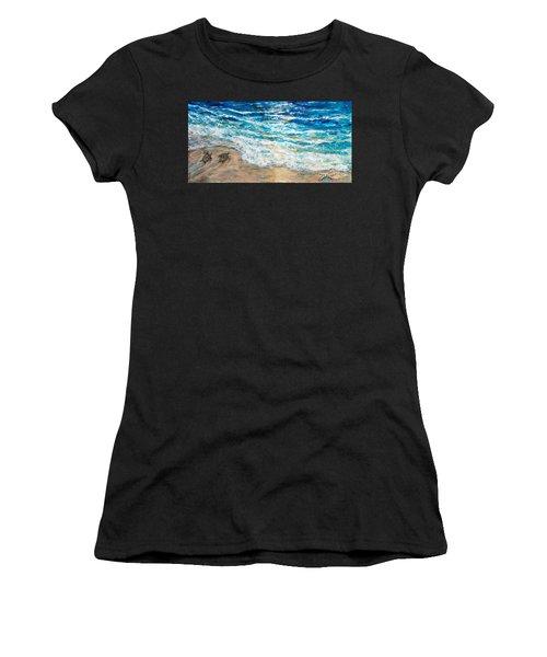 Baby Sea Turtles Iv Women's T-Shirt