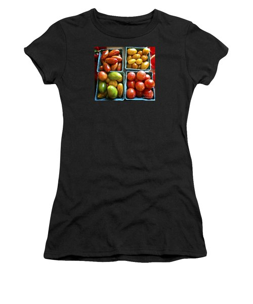 Baby Tomato Medley Women's T-Shirt (Athletic Fit)