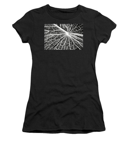 Back Of A Water Lily Pad Women's T-Shirt