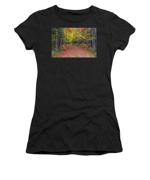 Back Road Color Tour  Women's T-Shirt