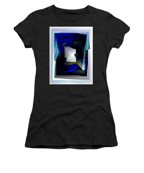 The End Of The Tunnel Women's T-Shirt (Junior Cut) by Thibault Toussaint
