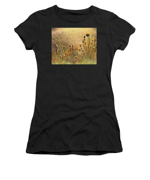 Backlit Thistle Women's T-Shirt