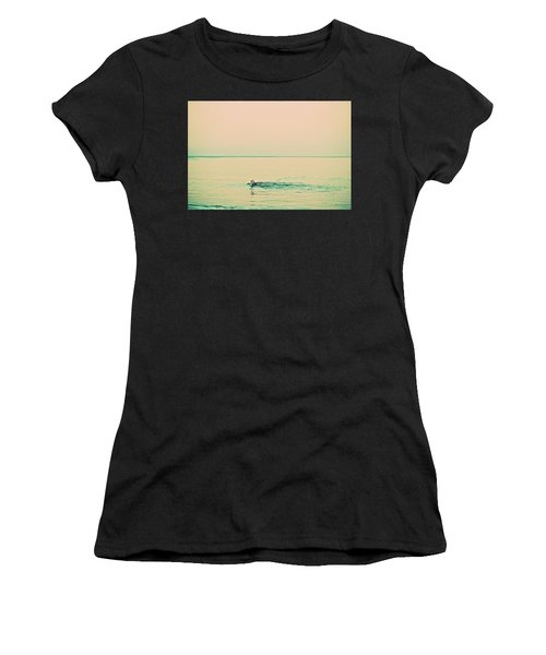 Backstroke Women's T-Shirt (Athletic Fit)