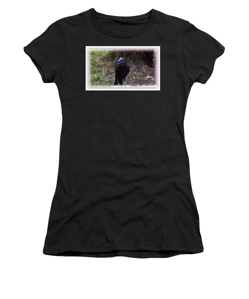 Backyard Crow Women's T-Shirt (Athletic Fit)