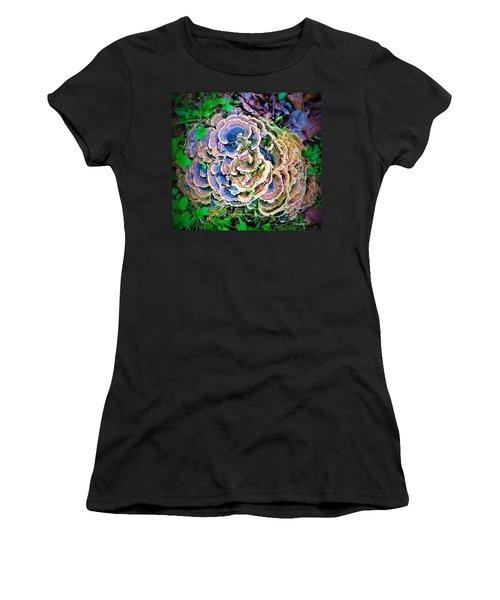 Backyard Mushroom  Women's T-Shirt