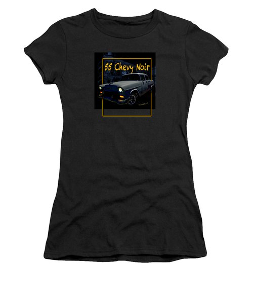 Bad 55 Chevy Rat Rod Women's T-Shirt (Athletic Fit)
