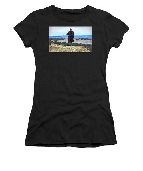 Bad Bear Standing Women's T-Shirt (Athletic Fit)