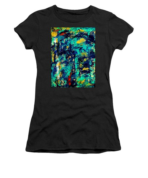 Baffled  Women's T-Shirt (Athletic Fit)