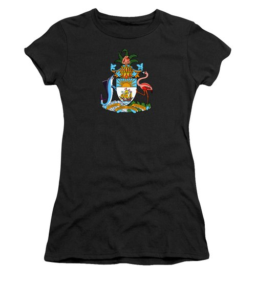 Bahamas Coat Of Arms Women's T-Shirt (Athletic Fit)