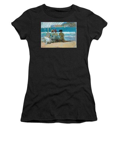 Under The Awnings, San Sebastian Women's T-Shirt
