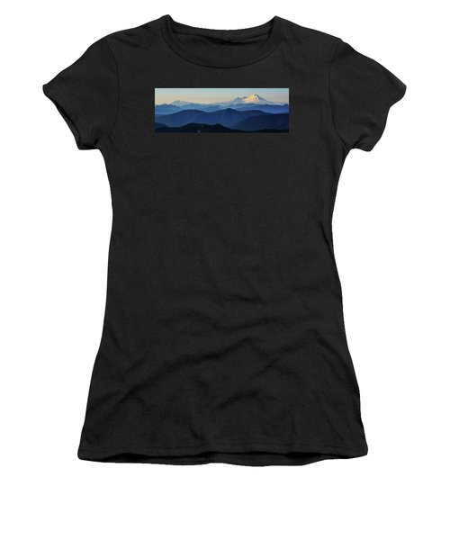 Baker From Pilchuck Women's T-Shirt (Athletic Fit)
