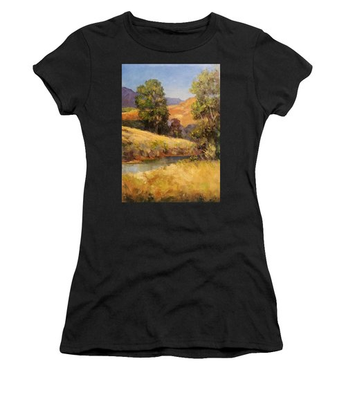 Bakesfield Creek Afternoon Women's T-Shirt (Athletic Fit)