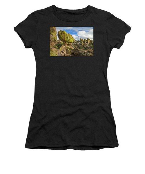 Balanced Rock Formation Women's T-Shirt