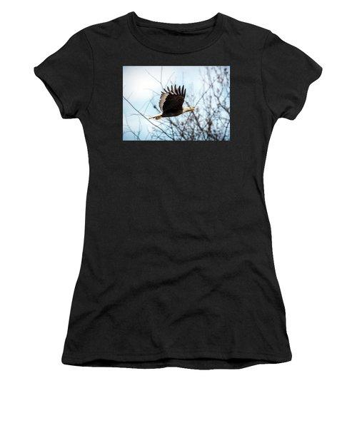 Bald Eagle Flight Women's T-Shirt