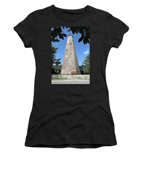 Bald Head Island Lighthouse Women's T-Shirt (Athletic Fit)
