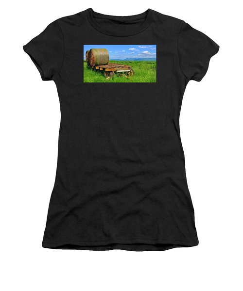 Bales At Rest Women's T-Shirt