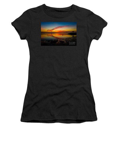 Bali Sunrise II Women's T-Shirt (Athletic Fit)