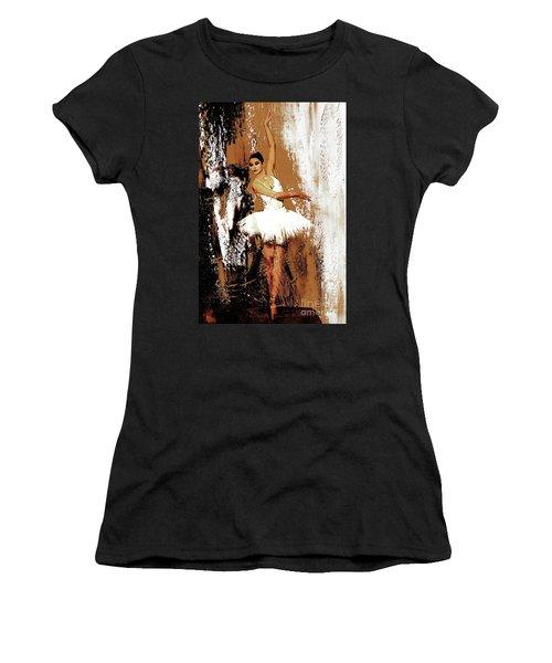 Ballerina Dance 093 Women's T-Shirt (Junior Cut) by Gull G