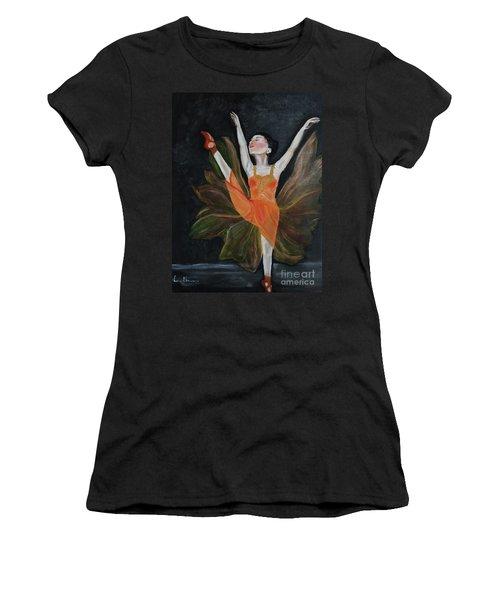 Ballet Dancer 1 Women's T-Shirt (Athletic Fit)