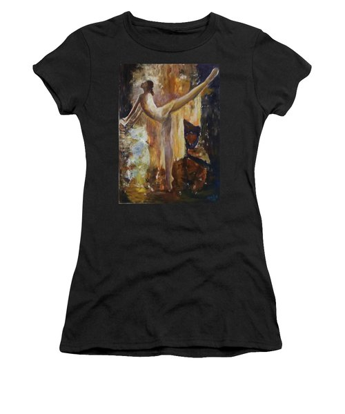 Ballet Dancer Women's T-Shirt (Athletic Fit)