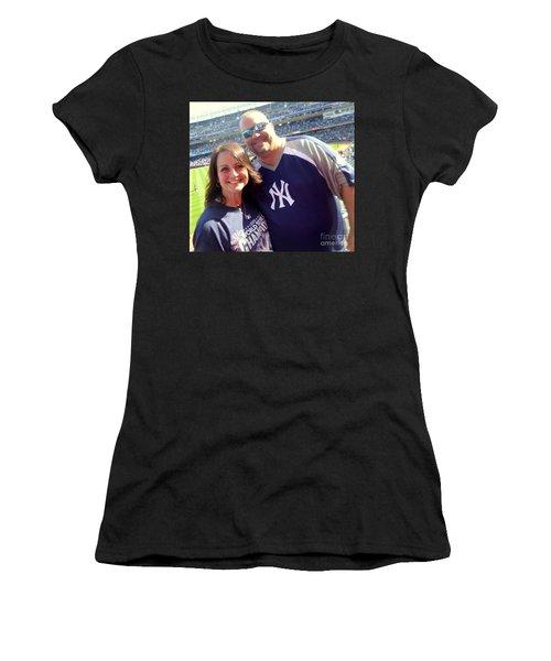 Ballgame1 Women's T-Shirt (Athletic Fit)