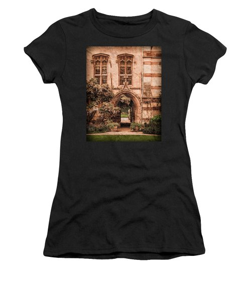 Oxford, England - Balliol Gate Women's T-Shirt