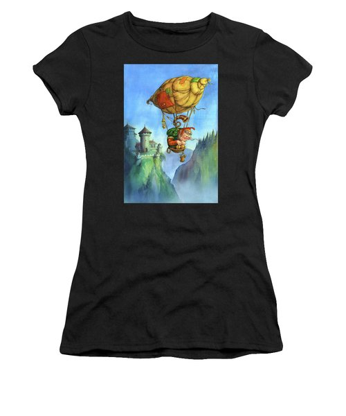 Balloon Ogre Women's T-Shirt (Athletic Fit)