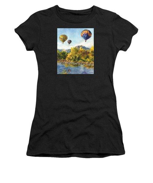 Balloons At Twin Lakes Women's T-Shirt