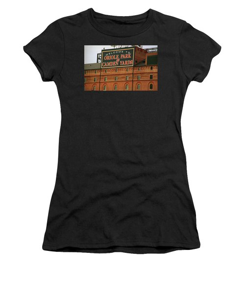 Baltimore Orioles Park At Camden Yards Women's T-Shirt (Athletic Fit)