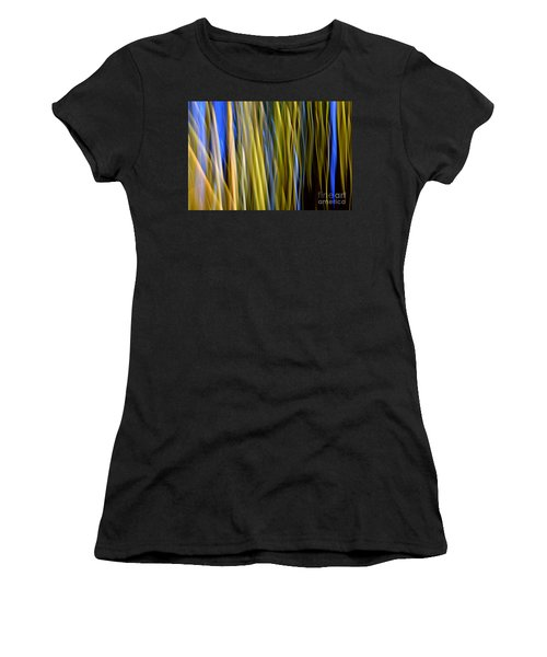Bamboo Flames Women's T-Shirt (Athletic Fit)