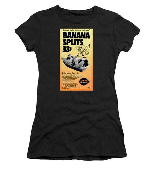 Banana Split Advertising 1973 Women's T-Shirt