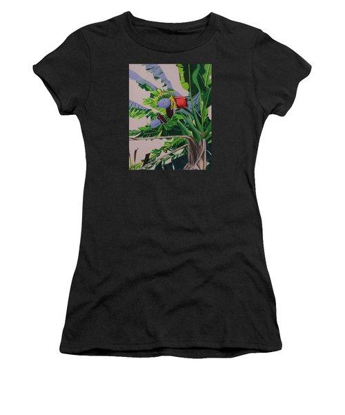 Bananas Women's T-Shirt (Athletic Fit)