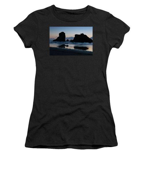 Bandon Oregon Sea Stacks Women's T-Shirt
