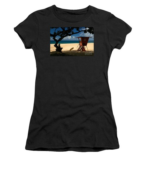 Banzai Beach Women's T-Shirt (Athletic Fit)