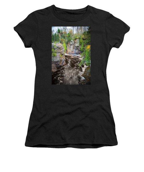 Baptism River In Tettegouche State Park Mn Women's T-Shirt