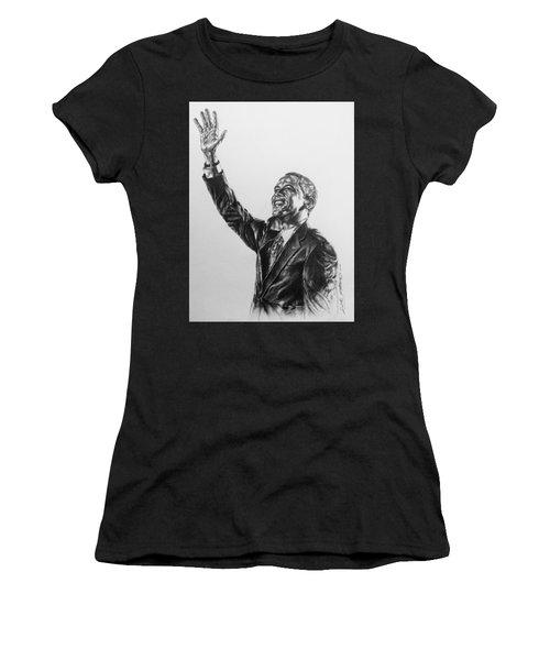 Barack Obama Women's T-Shirt (Junior Cut) by Darryl Matthews