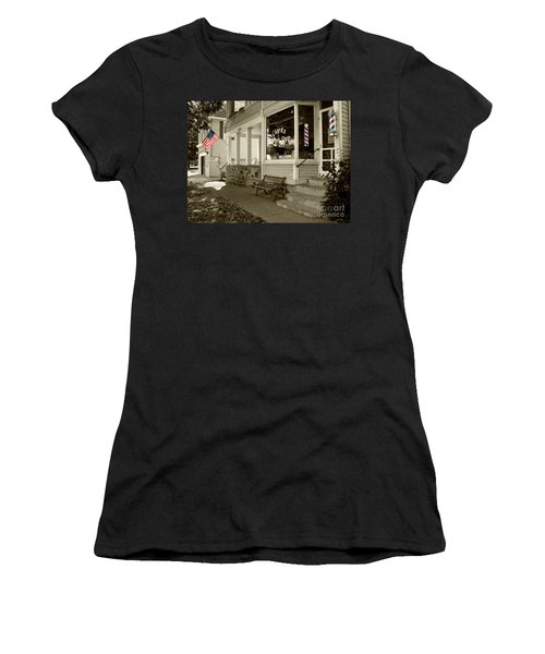 Clarks Barber Shop With Color Women's T-Shirt