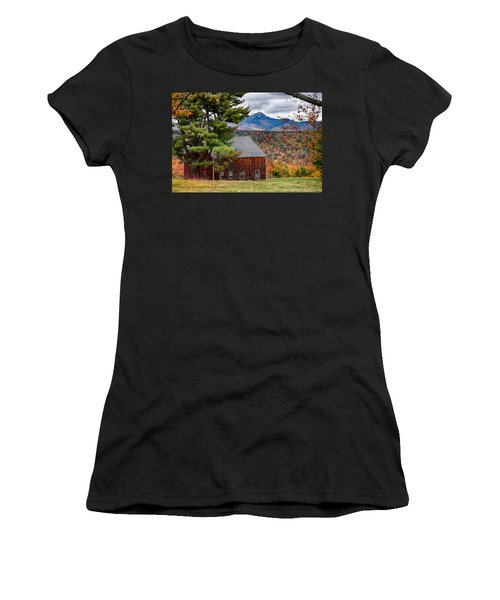 Women's T-Shirt featuring the photograph Barn Number Three by Jeff Folger