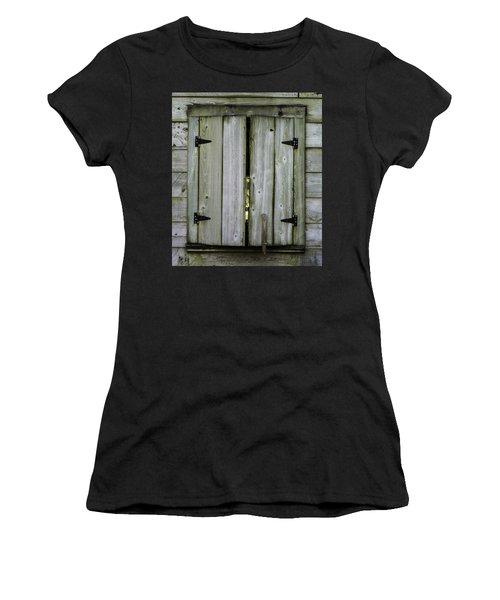 Barn Window, In Color Women's T-Shirt