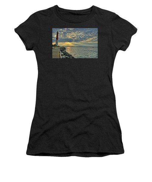 Barneget Lighthouse  New Jersey Women's T-Shirt