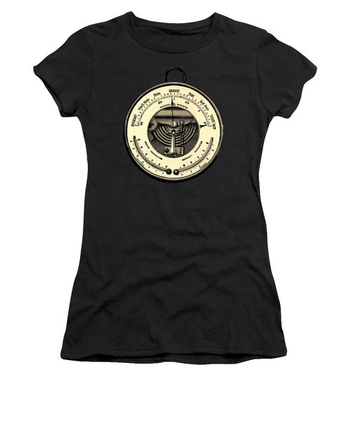 Barometer Vintage Tool Dictionary Art Women's T-Shirt