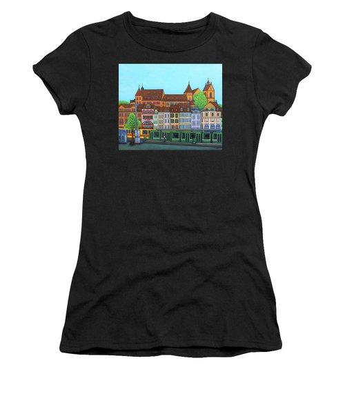 Basel, Barfusserplatz Rendez-vous Women's T-Shirt