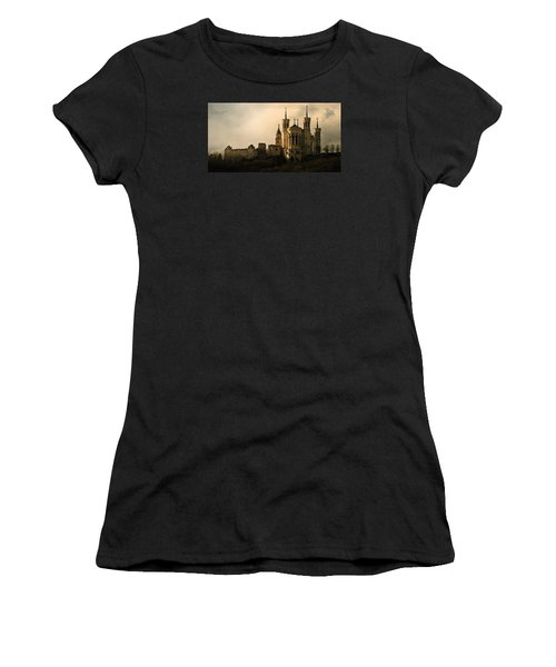Basilica Of Our Lady Of Fourviere  Women's T-Shirt (Junior Cut) by Katie Wing Vigil
