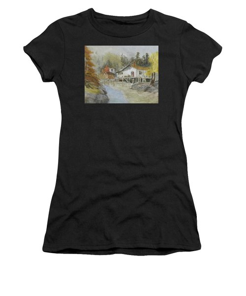 Bass Harbor Retreat Women's T-Shirt