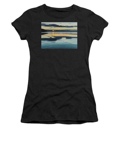 Bass Lake Sunset Women's T-Shirt