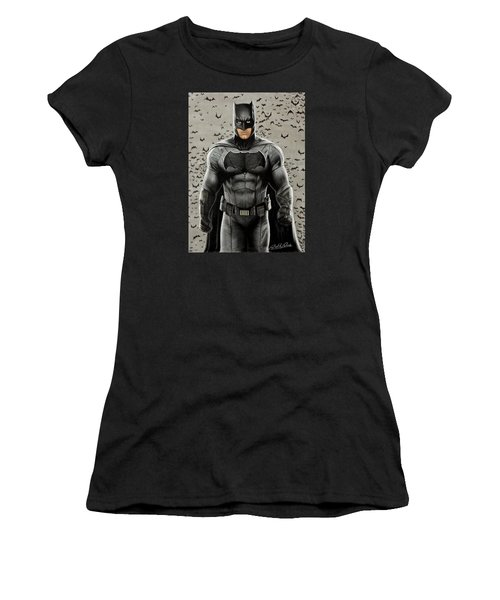 Batman Ben Affleck Women's T-Shirt (Athletic Fit)