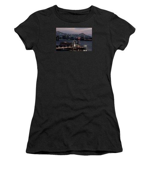 Baton Rouge Bridge Women's T-Shirt (Athletic Fit)